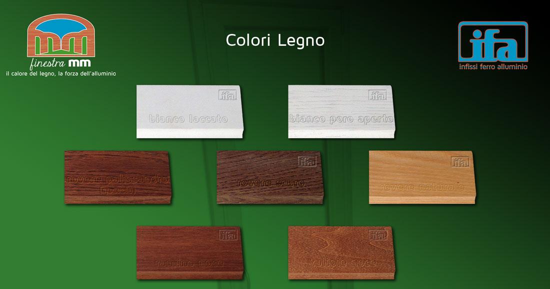 colori legno finestra mm ifa infissi