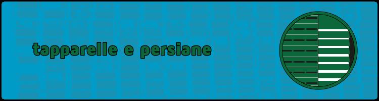 persiane tapparelle